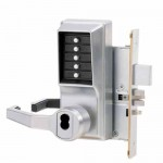 L8148S-26D-41 Kaba Pushbutton Mortise Lock w/Deadbolt, Schlage