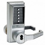 LR1021B-026-41 Kaba Pushbutton Lever Lock RH-026-Best/IC Key Override