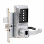 R8148R-26D-41 Kaba Pushbutton Mortise Lock w/Deadbolt, Sargent