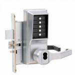 R8148B-26D-41 Kaba Pushbutton Mortise Lock w/Deadbolt, Best