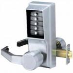 LL1011-26D-41 Kaba Mechanical Push Button Lock LH-LHR, Satin Chrome
