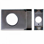 "K-BXSGL234 Keedex Weldable Gate Box 4-1/2 "" X 3-1/2"" Knob Application"