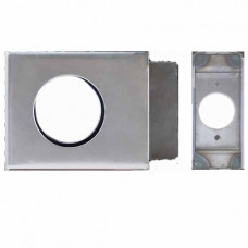 "K-BXSGL234-AL Keedex Weldable Gate Box 4-1/2 "" X 3-1/2"" Knob Application"