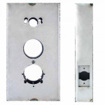 "K-BXSIM Keedex Weldable Gate Box 5-1/2"" W x 10-1/4"" Alarm Lock/Kaba"