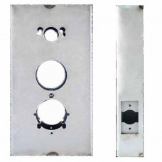 "K-BXSIM-AL Keedex Weldable Gate Box 5-1/2"" W x 10-1/4"" Alarm Lock/Kaba"