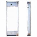 "K-BXSTR Keedex Weldable Gate Box 1-3/4"" W x 5-1/8"" ANSI Strike Plate"