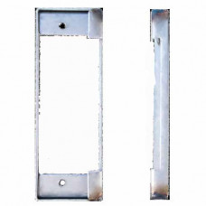 "K-BXSTR Keedex Weldable Gate Box 1-3/4"" W x 5-1/8"" ANSI Strike Plate"