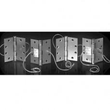 """TA2714 1108 McKinney Hinge Electrified By ACSI - 8 Wire - 4-1/2"""" x 4-1/2"""""""