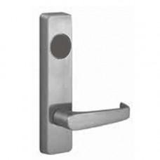 2908A Precision rim exit device lever trim, key unlocks lever