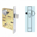 SC8463 Cal-Royal Mortise Deadbolt Heavy Duty Grade 1, Classroom
