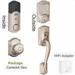 Smart Lock BE479BR400PKG Schlage WiFi package