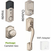 BE479BR400PKG Smart Lock Schlage WiFi package