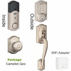 BE479BR400PKG Smart Lock Schlage WiFi package