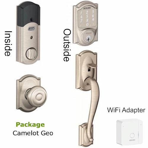 Bebr400pkg Smart Lock Wifi Package