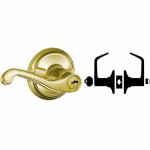 S51PD FLA Schlage Entrance Lever - Residential Grade