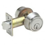 B252PD Schlage Double Cylinder Grade 2 Deadbolt - ANSI E2112