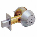 B660P Schlage Single Cylinder Outside, Turn Inside Grade 1 Deadbolt - ANSI E2151