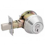 B660R Schlage Single FSIC Cylinder, Turn Inside Grade 1 Deadbolt