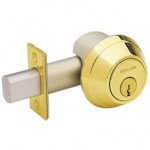 B664P Schlage Cylinder Bolt, No Turn Unit Grade 1 Deadbolt - ANSI E2101
