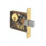 L9460 Schlage Mortise Cylinder x Thumbturn Deadbolt Grade 1 - ANSI F17