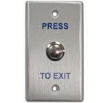 REXAS-1141 Transmitter Solutions Press to Exit Pushbutton