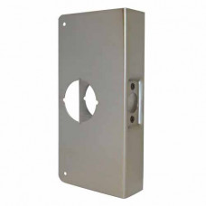"3-S-CW Don-Jo Wrap-Around Plate, Door Reinforcer 4 1/4"" X 9"""