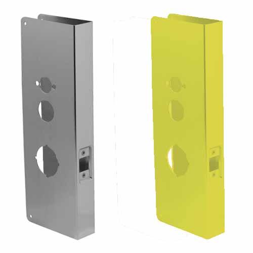 15-CW Don-Jo Wrap-Around Plate Door Reinforcer For Kaba Unican 1000  sc 1 st  Buy Door Hardware Now & Don-Jo door wrap-around plate door reinforcer for kaba-ilco simplex ...