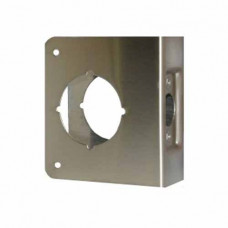 "51-S-CW Don-Jo Wrap-Around Plate, Door Reinforcer 4"" X 4 1/2"""