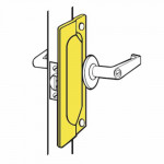 "LP-107 Don-Jo Latch Protector 7"" For Outswinging Doors"