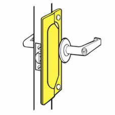 "LP-207 Don-Jo Latch Protector 7"" For Outswinging Doors"