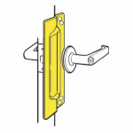 PLP-111 Don-Jo Latch Protector w/ Pin For Outswinging Doors