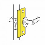 "SLP-206 Don-Jo Latch Guard 6"" For Out-Opening Doors"