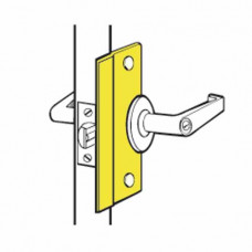 """SLP-206 Don-Jo Latch Guard 6"""" For Out-Opening Doors"""