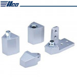 "IL-OP-10-RH-18-AL Ilco 1/8"" Recessed Arch/Vistawall Pivot Set Right Hand"