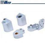 IL-OP-14-LH-AL Ilco Flush US Aluminum Pivot Set Left Hand