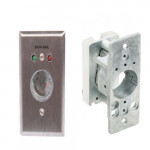 653-04 NS L2 Locknetics Key Switch,  CW, SPST, Maintained, Narrow Stile