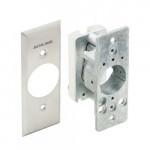 653-04 NS Locknetics Key Switch, CW, SPST, Maintained Narrow Stile
