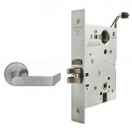 L9092EL/EU 06A Schlage Electrified Mortise Lock, Safe/Secure Outside Lever