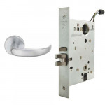 L9091EL/EU 17A Schlage Electrified Mortise Lock, Safe/Secure Both Levers