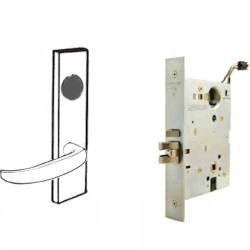 Schlage Electrified Mortise Lock Safe Secure Both Levers