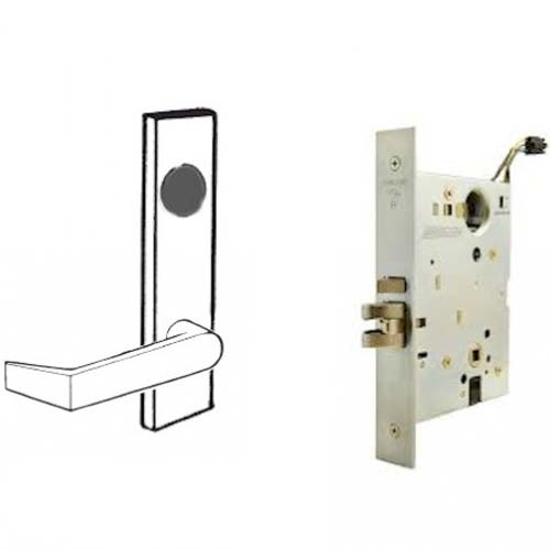 Schlage Electrified Mortise Lock Safe Secure Outside