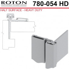 """780-054HD Roton Half Surface Continuous Geared Hinge 83"""""""