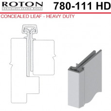 """780-111HD Roton Concealed Leaf - Entry Door For 1/8"""" Inset - Templated Continuous Geared Hinge 83"""""""