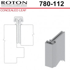"780-112 Roton Concealed Leaf - Entry Door - 1 3/4"" Doors - Templated Continuous Geared Hinge 83"""