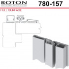 780-157 83 Roton Full Surface - Narrow or Inset Frame For Retrofit - Templated Continuous Geared Hinge