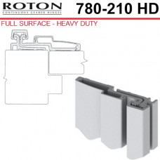 """780-210HD Roton Full Surface - Retrofit Swing Clear Action Continuous Geared Hinge 83"""" (Heavy Duty)"""
