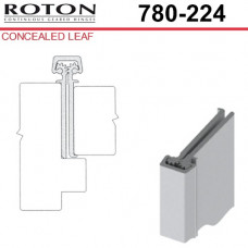 "780-224 Roton Concealed Leaf - 1-3/4"" Doors - Templated Continuous Geared Hinge 83"""