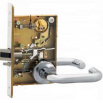 8243 WTJ Sargent Mortise Apartment Lever Grade 1 - ANSI F20