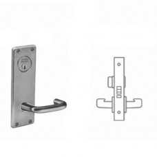8265 WTJ Sargent Mortise Privacy Lever Grade 1 - ANSI F22