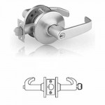 10G24 Sargent cylindrical entry lever lock grade 1